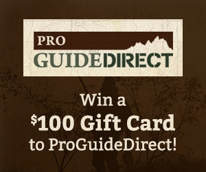 Pro Guide Direct $100 Giveaway